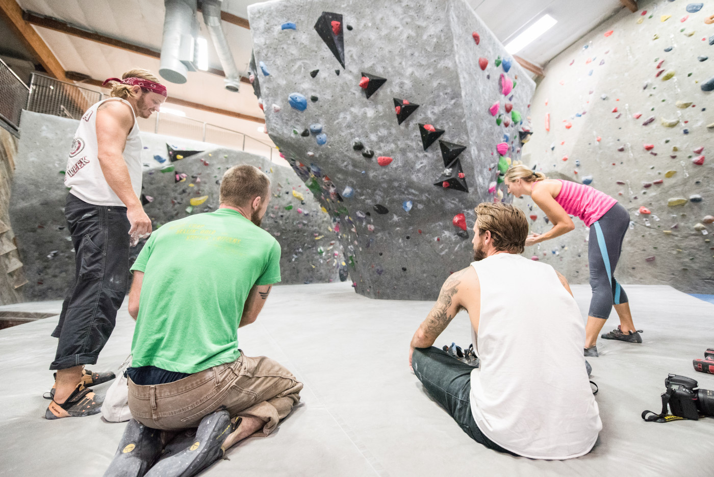 Climbing is Community Centered