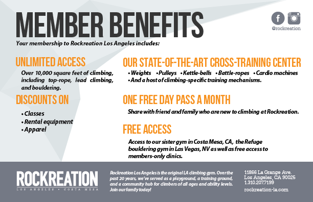 Download Our Membership Details Flyer
