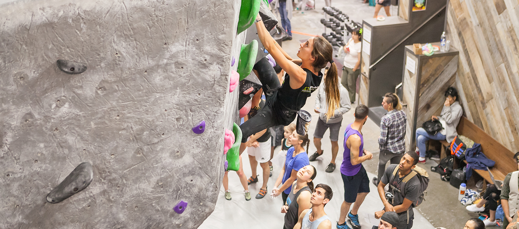 Climbing that is Community Centered